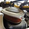 CO2ボンベのパッキン取り付けとアフリカツインのエアクリーナーの清掃