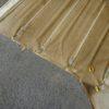 縦目ベンツの天井内装をきちんと採寸する