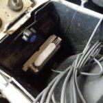 二輪用ETC車載機の搭載場所検討と後片付け