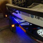 トレーラーのLEDチューブライトの点灯確認などなど