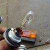 トレーラーの使用電球調査ついでに補修作業