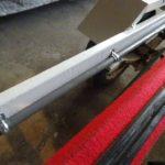 トレーラーの配線取りまわしと端子の取り付け作業