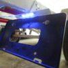 トレーラーのナンバー灯接続と三角反射板の設置検討