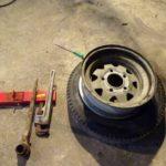 電動ドリルの購入からのタイヤ交換