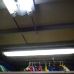 スーパーハウスに照明器具を追加する