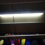 スーパーハウスの照明器具の再交換と取り付け方向変更