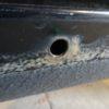 縦目ベンツのサイドシル錆穴修理(その2)