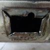 縦目ベンツのサイドシル錆穴修理(その6)
