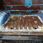 狩猟用ジムニーの荷台補強取り外しとアメリカへ乗用掃除機の部品発注