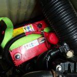 4TECのバッテリー固定方法変更