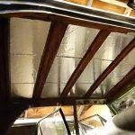 田植えからの縦目ベンツの天井デッドニング
