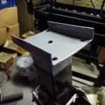 バウストッパーの塗装とウッドレーンの調整とテールランプの破壊~補修