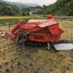 稲刈り2017(前半戦)