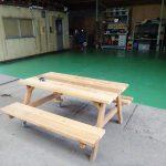 保管場所床の塗装(完成編)