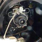 エリシオンのヘッドライトHIDバーナー交換