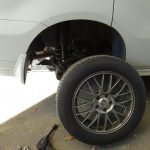 エリシオンの冬タイヤ交換
