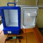 コペンのバッテリー仮搭載と冷温庫の発掘