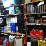冷温庫の設置スペース確保ついでに整理整頓とコペンのバッテリー交換