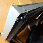 クラリオンNX308液晶パネルの開閉不具合修理