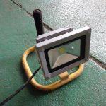 投光器の改善と探し物からのサンバーの配線養生