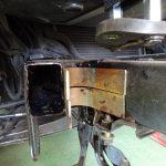 チャイナLEDライトバーの到着とサンバーのフレーム補強材作成