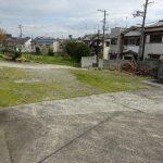堺の自宅の除草剤散布とガラクタ引き上げ