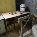 作業机周りの掃除と電源配線整理