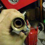 除湿機の設置と直圧式ブラスターの清掃