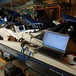4TECの故障診断と排気漏れ修理とバイク小屋移動