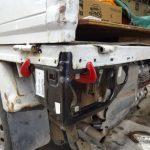 サンバー・トラックのテール周り板金修理